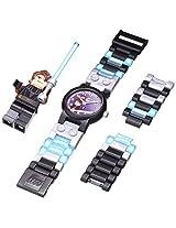 LEGO Kids 9002052 Star Wars Anakin Stainless Steel Watch With Minifigure