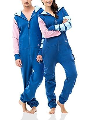 ZIPUPS Mono-Pijama Color Blocking Stripy