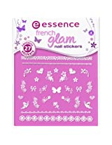 Essence French Glam Nail Stickers French Affairs 04-72616