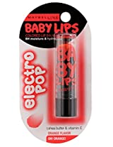 Maybelline New York Baby Lips Electro, Oh Orange, 3.5g
