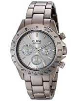 a_line Watches, Women's Amore Chronograph Grey Dial Grey Aluminum, Model 20050-GR
