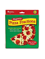 LEARNING RESOURCES PIZZA MAGNETIC FRACTION SET (Set of 3)