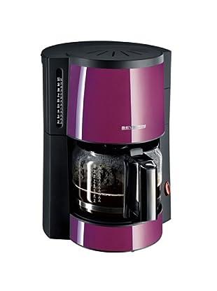 Severin 4307 - Cafetera Púrpura y Negra