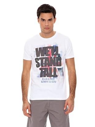 Springfield Camiseta Rock (Blanco)