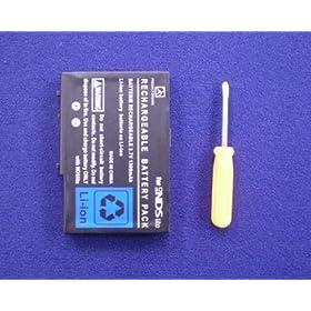 【クリックで詳細表示】任天堂 DS Lite用 バッテリー 交換電池(1600mAh)-532657: おもちゃ