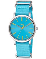Timex Analog Blue Dial Unisex Watch - T2P3636S
