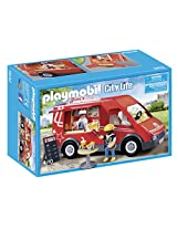 PLAYMOBIL City Food Truck Playset Building Kit