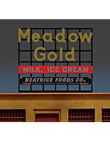 44 1952 Sm Meadow Gold Billboard Sign By Miller Signs
