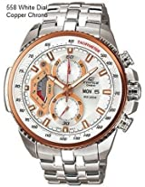 Casio Edifice Analog Chronograph Day Date ED438 Watch For Men