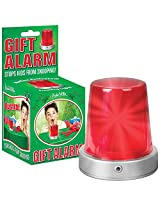 Motion Activated Gift Alarm With Lights And Siren - Stops Kids From Snooping