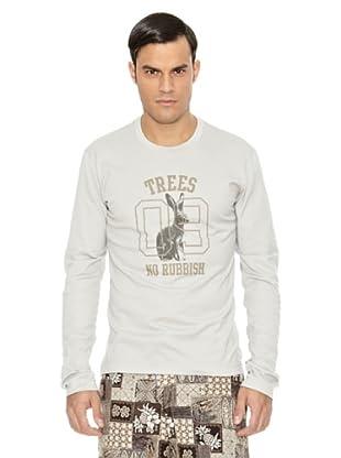 Dolce & Gabbana Camiseta Redondo Guisto (Gris)