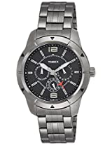 Timex E Class Analog Black Dial Men's Watch - TI000I60800