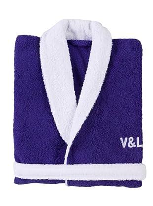 Victorio&Lucchino Accappatoio V&L (azzurro)