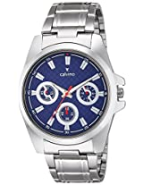 Calvino Men's Blue Dial Watch CGAC-142011B_SIL-BLU