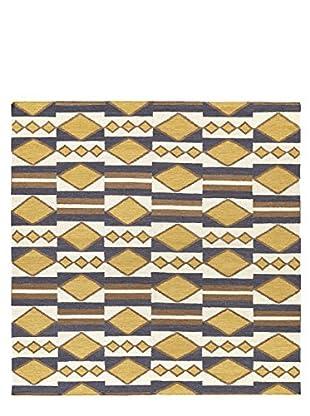 Kaleen Nomad Rug, Gold, 8' Square