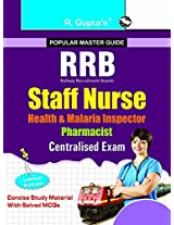 RRB: Staff Nurse (Health & Malaria Inspector/Pharmacist) Centralised Recruitment Exam