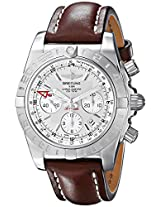 Breitling Men's AB042011/G745L Chronometer Analog Display Swiss Automatic Brown Watch