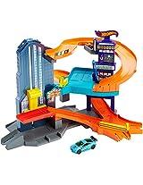 Hot Wheels Workshop Track Builder Speedtropolis Track Set