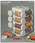 JVS Kitchen Mate 16 Jar (Spice Rack)