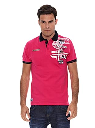 Geographical Norway Polo Manga Corta Karite (Rosa)