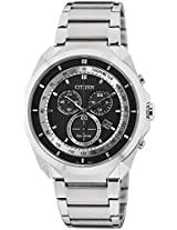 Citizen Eco-Drive Analog Black Dial Men's Watch - AT2150-51E