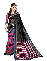 Bhavi Creations Presents Printed Gadwal Silk Saree