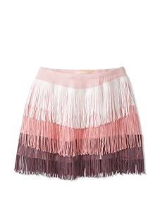 Lunchbox Girl's Fringe Skirt (Pink)