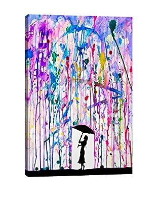 Marc Allante Gallery Deluge Wrapped Canvas Print