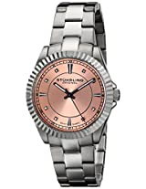 Stuhrling Original Classic Analog Pink Dial Women's Watch - 408L.12114