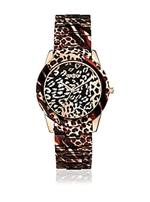Guess Quarzuhr Woman Vixen W0425L3 leopard 38 mm