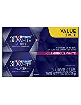 Crest 3d White Luxe Glamorous White Toothpaste Twin Pack 2 X 4.1 Oz