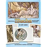 Original Mucha Postcard Designs: 24 Art Cards (Card Books)Alphonse Maria Mucha�ɂ��