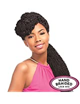 Senegal Collection Braided Lace Wig Blunt Braid (1 Jet Black)
