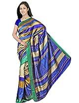 Kothari Printed Saree (KT0105_Blue)