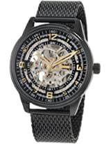 Akribos XXIV Men's Black Stainless Steel Analogue Watch - AKR446BK