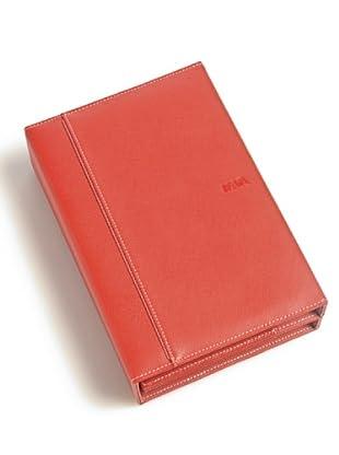 Nava Design Portabiglietti Saffiano (Rosso)