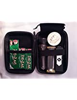 """""""Roll your own"""" Smoking Kit-Case, Grinder, Rolling Machine & Papers."""