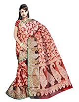 Saree Sansarr Saree (6032_Red)