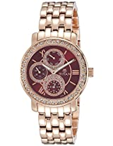 Titan Chronograph Multi-Colour Dial Women's Watch - 9743WM02