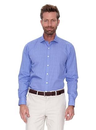 Cortefiel Camisa Topos (Azul)