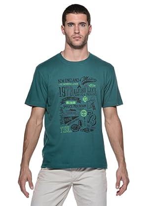 Timberland Camiseta M/M (Verde)