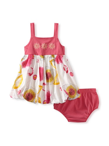Baby Nay Bubble Dress with Bloomer Set (Watercolor Sketch)