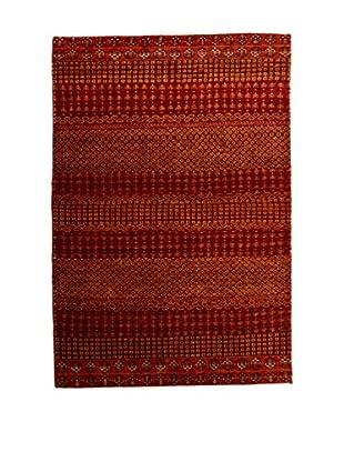 RugSense Teppich Lorry Buff Misto Seta rot/orange 152 x 99 cm