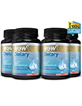 Wow Body Cleanse Plus - 60 Vegetarian Capsules (Pack of 4)