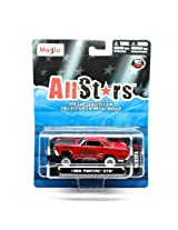 1965 Pontiac Gto (Red) * All Stars Series 13 * 2013 Maisto 1:64 Scale Die-Cast Collection