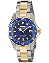 Invicta Pro Diver Analog Blue Dial Men's Watch - 8935