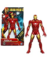 Hasbro Iron Man 2 Movie Action Figure Iron Man Mark Vi, 8 Inch