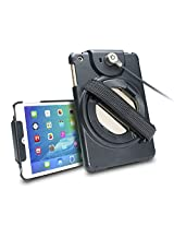 CTA Digital Anti-Theft Case with Built-in Grip Stand for iPad mini 1-3 PAD-ACGM