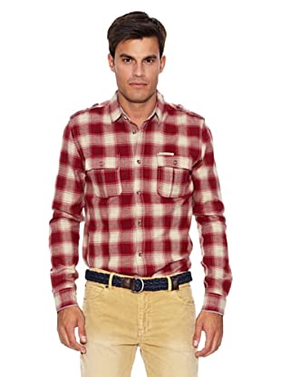 Pepe Jeans London Camisa Savant (Rojo / Blanco)