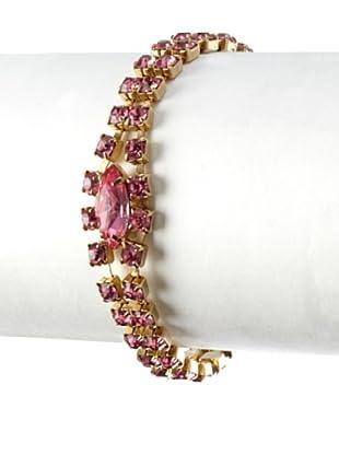 Lulu Frost 1920's Art Deco Pink Bracelet
